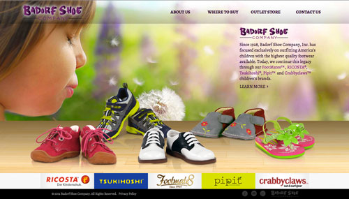 badorfshoe.com screenshot